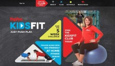 Hy Vee KidsFit website