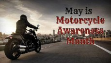 Motorcycle Awareness Month Graphic