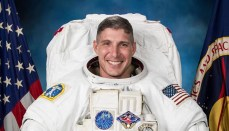 NASA SpaceX photo of Michael Hopkins
