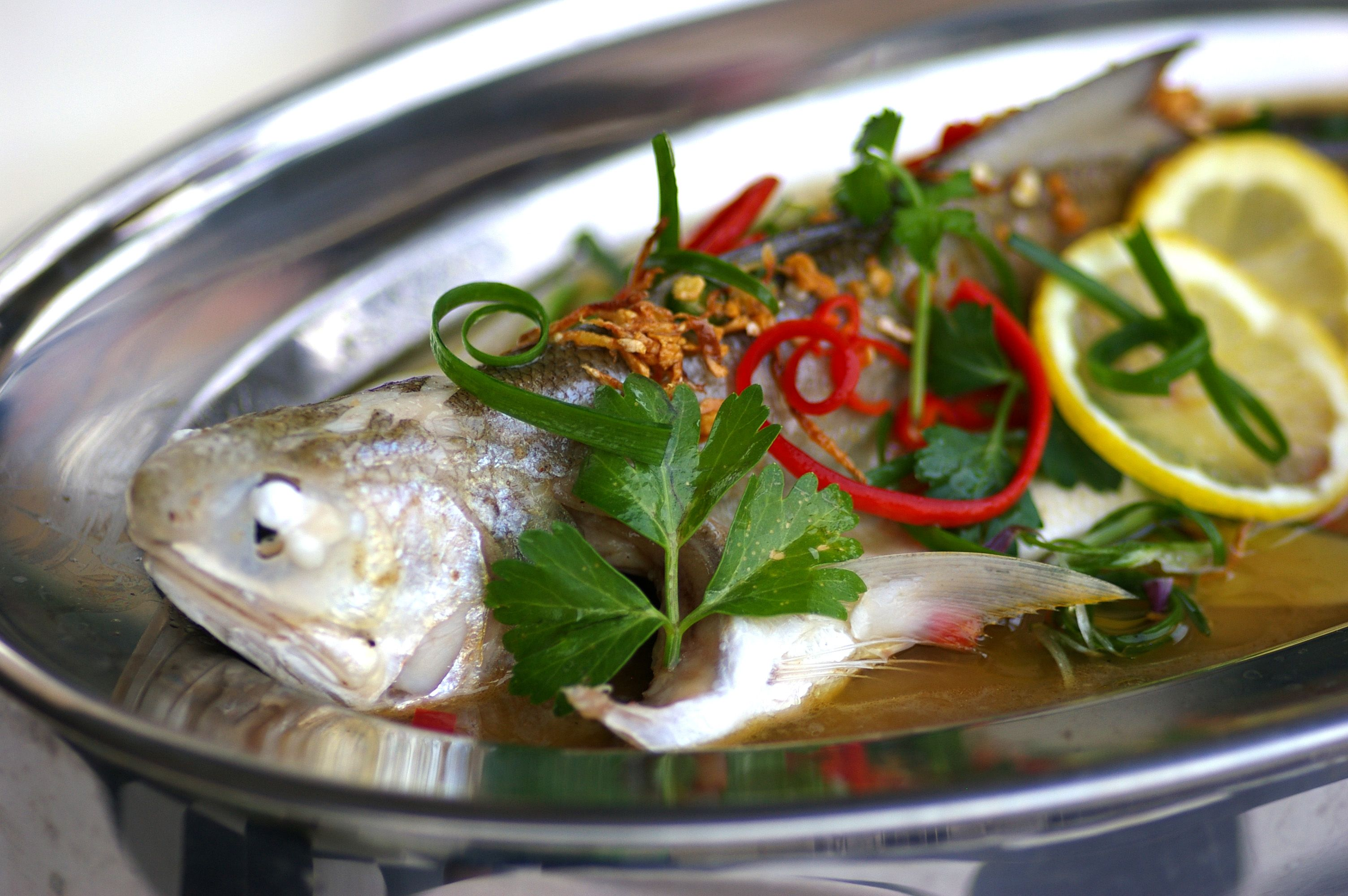 Steamed Fish In Tangy Lemon Sauce Kuali