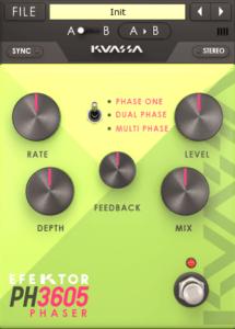 phaser guitar effect software