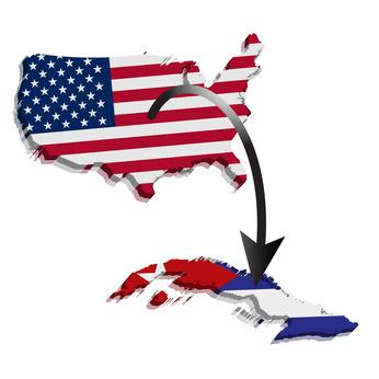 Kubaflug von den USA