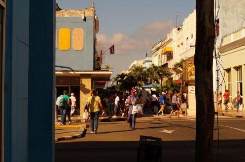 Fußgängerzone Cienfuegos