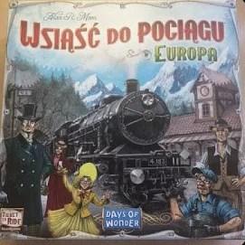 Wsiąść do pociągu: Europa pudełko