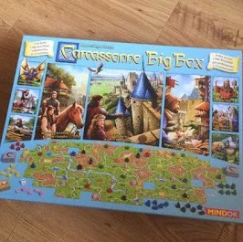 Carcassonne Big Box - unboxing