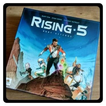Rising 5 gra planszowa
