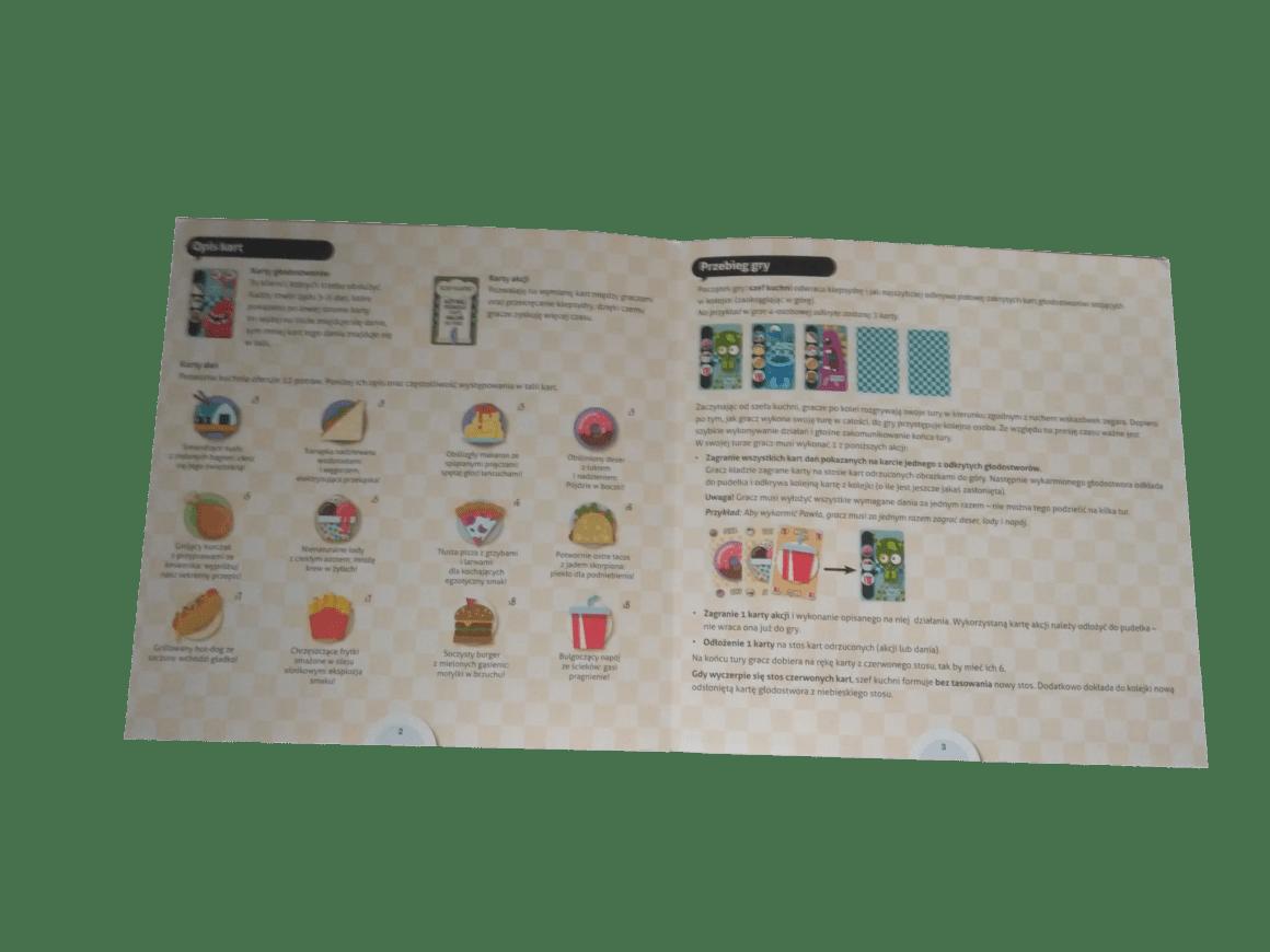 Instrukcja do gry Głodostwory