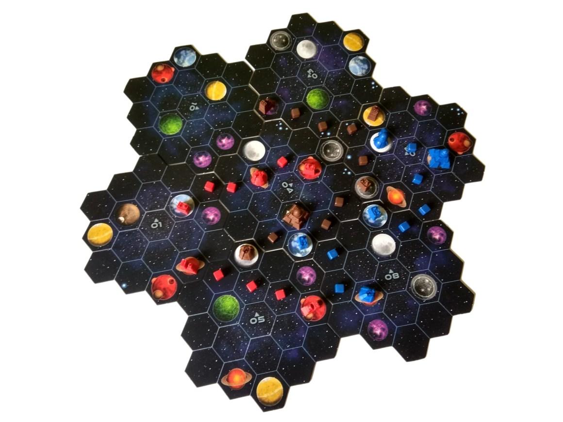 Kosmos plansza do gry