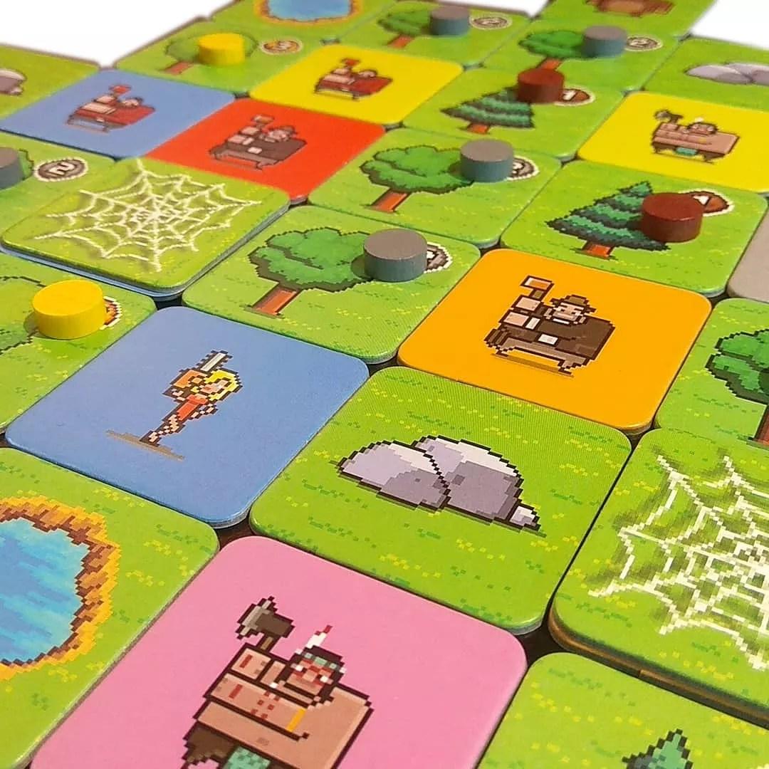 Timberman: Drwale w lesie gra planszowa