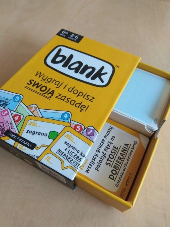 Blank pudełko