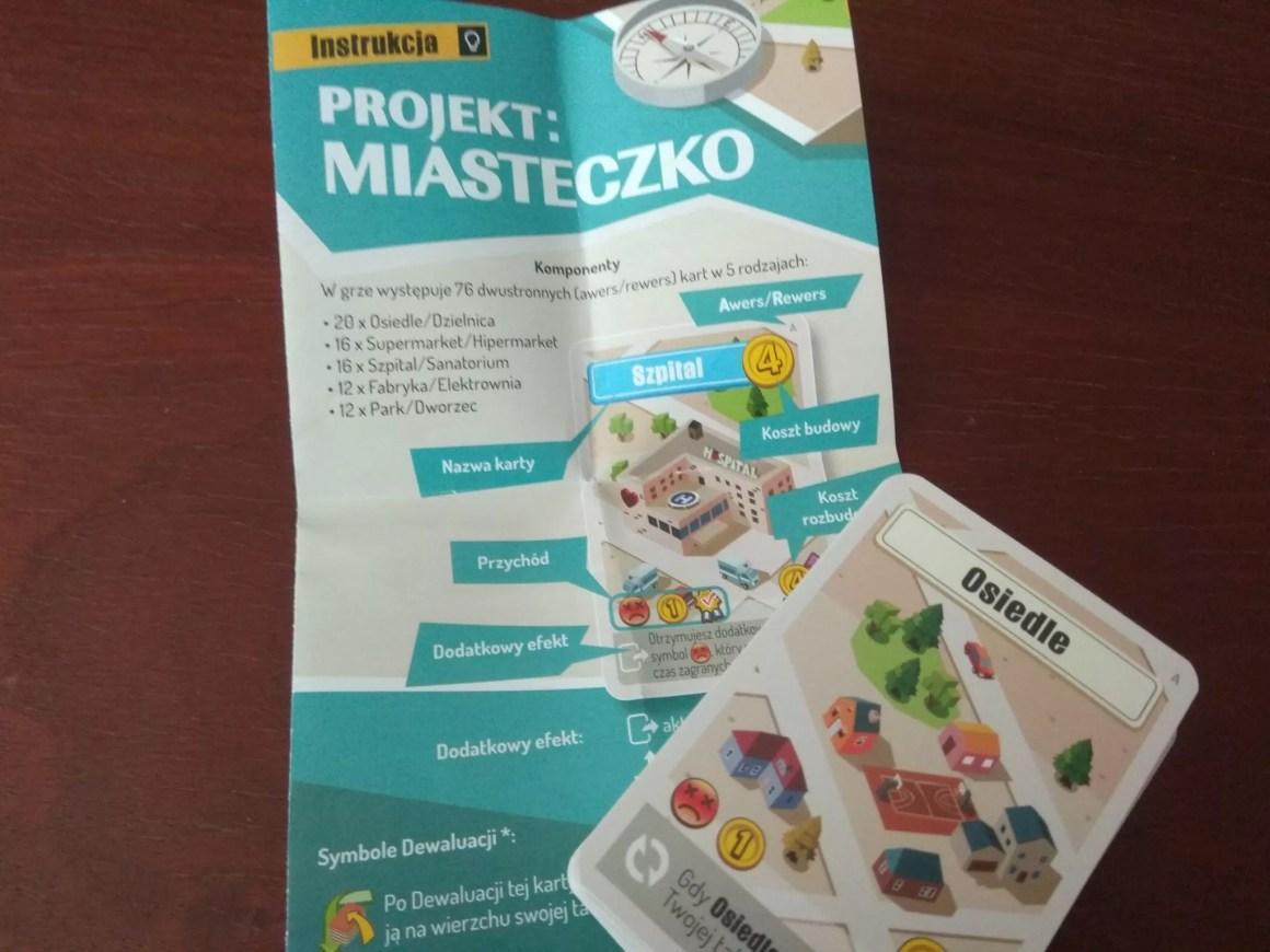 Projekt miasteczko instrukcja