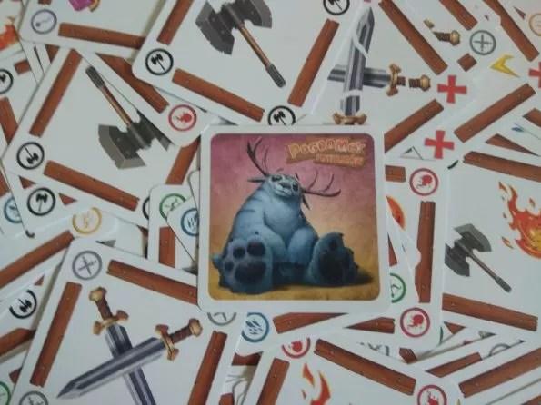 Pogromcy potworów karty