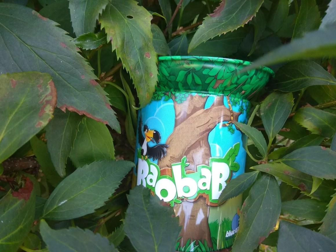Baobab w liściach