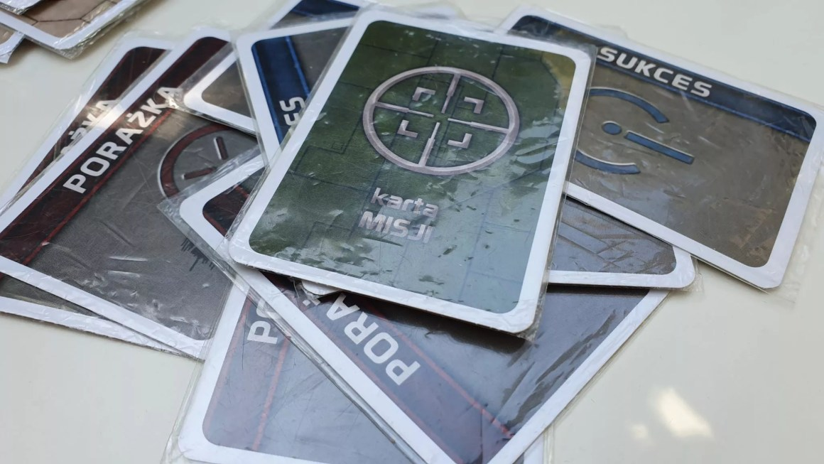 Karty misji