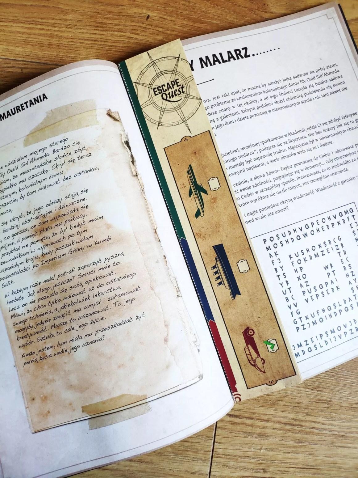 Poszukiwacze zaginionego skarbu gamebook