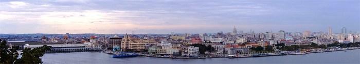 Altstadt Panorama Havanna, Kuba