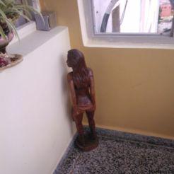 """Obzöne Statue: """"Spezielles"""" Ausstellungsstück in einem Paladar"""
