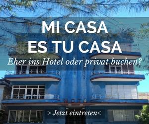 Eher ins Hotel oder privat buchen?
