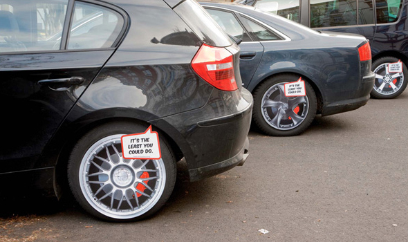 Keskin Rims Guerilla Marketing