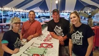 Community volunteering at Scott County fair
