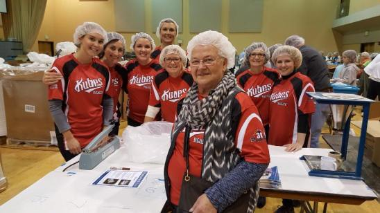 Kubes Realty volunteers at Feed My Starving Children