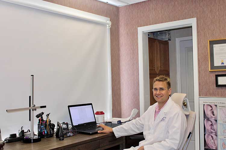 Dr. Kubick at the Kubick and Kubick office
