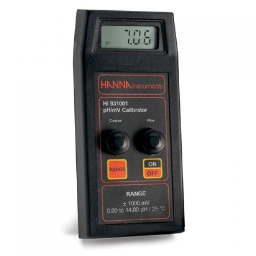 Hanna HI 931001 pH-Mv Calibration