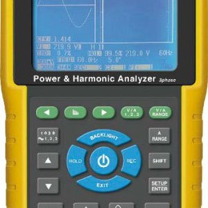 Lutron DW-6095 3 Phase Power & Harmonic Analyzer Data Logger