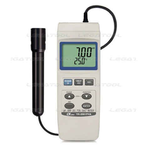 Lutron YK 2001 PHA  pH/ORP,CD/TDS,DO and Salt Meter