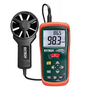 Extech AN 200 Anemometer with IR Thermometer
