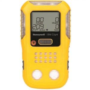 BW Technologies Clip4 [BWC4-Y-N] Multi-Gas Detector, %LEL, O2, H2S, CO