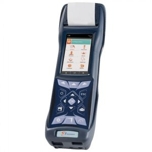 E Instruments BTU4500 [BTU4500-3] Industrial & Commercial Combustion Analyzer With Integrated Printer, O2, CO, NO/NOx