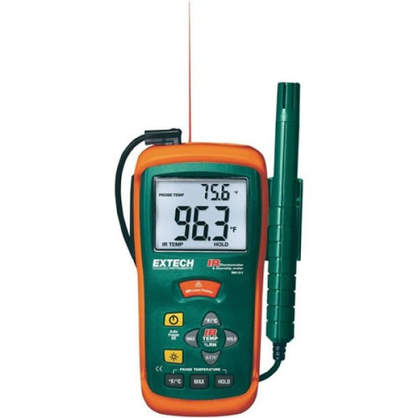 Extech RH101 Hygro-Thermometer & InfraRed Thermometer