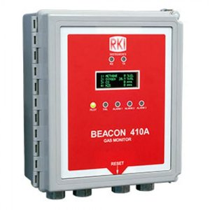 RKI Instruments Beacon 410A [72-2104A] 4-Channel Gas Controller