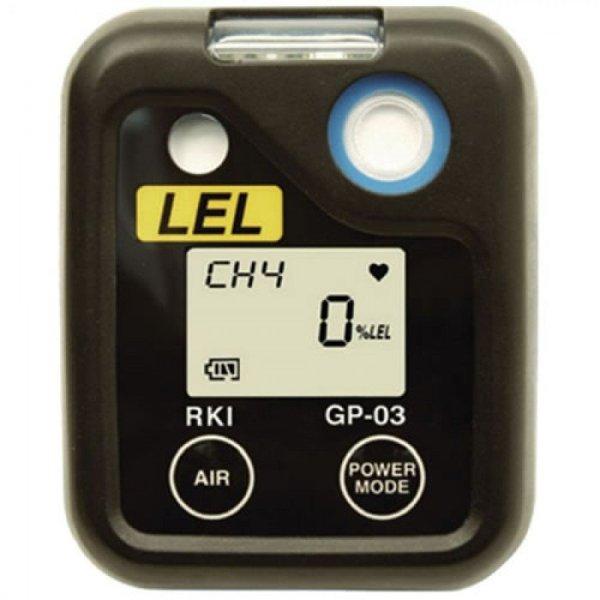 RKI Instruments GP-03 [72-0038] Single Gas Monitor, NiMH Batteries, No Charger, 0-100% LEL