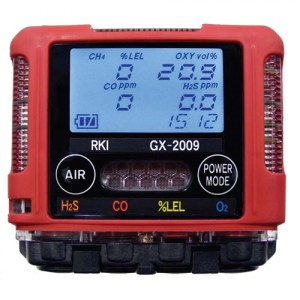 RKI Instruments GX-2009 Two Gas Monitor
