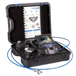 Wohler VIS 350 Plus [8927] Inspection Camera With NTSC Pan And Tilt Color Head