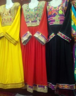 Kuchi Tribal Ladies Dress-4