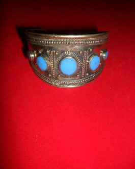 Afghani Tribal Bracelet with gemstone