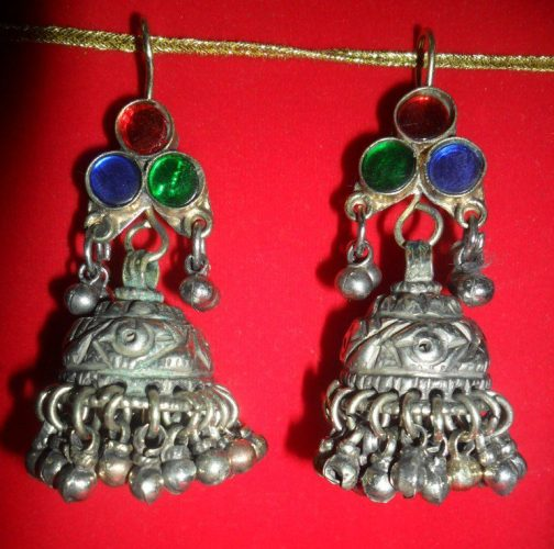 Kuchi Ear Rings with bells