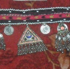 Antique parts Kuchi belly-dance Belt