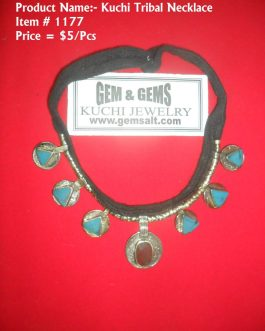 Turquoise Afghani Necklace