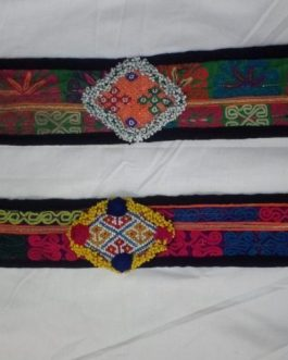 Medallions Fabric Belt