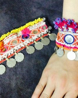 Pashori Antique Coins Bracelet