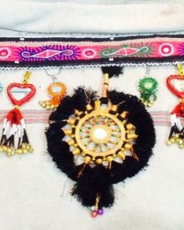 Three Flower Turkmen Belt