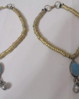 Turquoise Anklet Pair