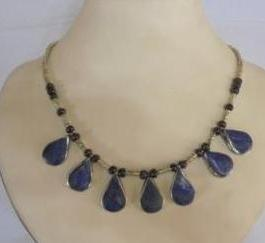 Afghani Lapis Necklace