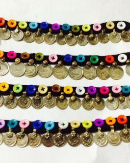 Multi Button & Coins Bracelet
