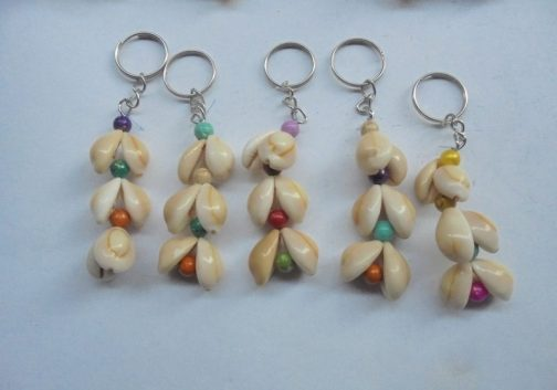 Shell Made Key Chain Dozen