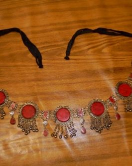 Coral Stone Belly Dance Belt